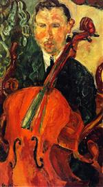 Bild:The Cellist (Serevitsch)