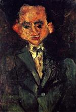 Chaim Soutine  - Bilder Gemälde - The Floor Waiter