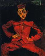 Chaim Soutine  - Bilder Gemälde - The Groom