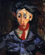 Chaim Soutine  - Bilder Gemälde - The Gypsy