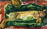 Chaim Soutine  - Bilder Gemälde - The Hare