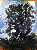 Chaim Soutine  - Bilder Gemälde - The Large Tree
