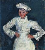 Chaim Soutine  - Bilder Gemälde - The Little Pastry Cook