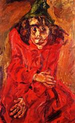 Chaim Soutine  - Bilder Gemälde - The Mad Woman
