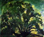 Chaim Soutine  - Bilder Gemälde - The Oak