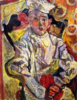 Chaim Soutine  - Bilder Gemälde - The Pastry Cook
