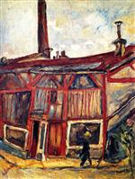Chaim Soutine  - Bilder Gemälde - The Studio of the Artist Falguiere