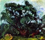 Chaim Soutine  - Bilder Gemälde - The Tree