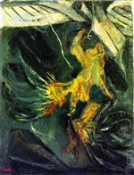 Chaim Soutine  - Bilder Gemälde - The Turkey