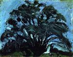 Chaim Soutine  - Bilder Gemälde - Tree in the Wind