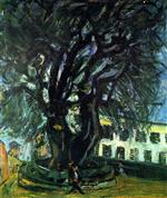 Chaim Soutine  - Bilder Gemälde - Tree of Vence