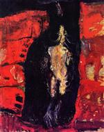 Chaim Soutine  - Bilder Gemälde - Turkey Hanging by the Fireplace