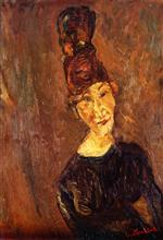 Bild:Woman with a Tall Hat