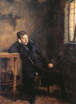 Emile Friant - Bilder Gemälde - Coquelin Senior in the Role of Jean Dacier