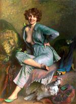 Emile Friant - Bilder Gemälde - The Birds