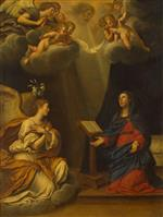 Francesco Albani  - Bilder Gemälde - The Annunciation