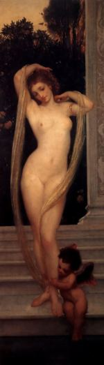 Lord Frederic Leighton - paintings - A Bather