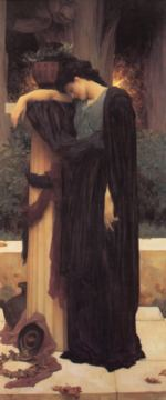 Lord Frederic Leighton - paintings - Lachrymae