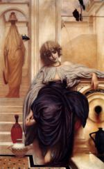 Lord Frederic Leighton - paintings - Songs Without Words