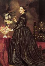 Lord Frederic Leighton - paintings - Mrs James Guthrie