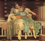 Lord Frederic Leighton - paintings - Music Lesson