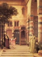 Lord Frederic Leighton - paintings - Old Damascuc: Jew's Quarter