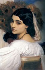 Lord Frederic Leighton - paintings - Pavonia