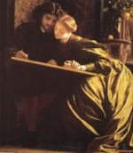 Lord Frederic Leighton - paintings - The Painter's Honeymoon