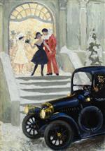 Paul Gustave Fischer - Bilder Gemälde - After the Ball