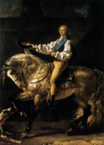 Jacques Louis David - Bilder Gemälde - Count Potocki