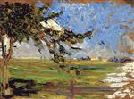 Wassily Kandinsky  - Bilder Gemälde - Landscape with Apple Tree