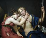 Jacques Louis David - Bilder Gemälde - Telemachus und Eucharis