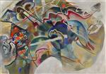 Wassily Kandinsky  - Bilder Gemälde - Painting with White Border