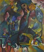 Wassily Kandinsky  - Bilder Gemälde - Picture with an Archer
