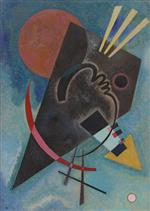 Wassily Kandinsky  - Bilder Gemälde - Pointed and Round