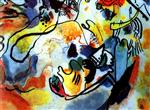 Wassily Kandinsky  - Bilder Gemälde - The Last Judgement