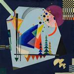 Wassily Kandinsky  - Bilder Gemälde - Three Sounds