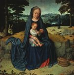 Gerard David - paintings - The Rest on the Flight into Egypt