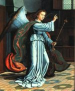 Gerard David - paintings - The Annunciation
