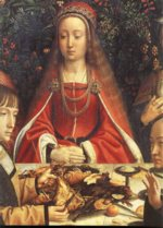 Gerard David - paintings - The Marriage at Cana (detail)