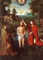 Gerard David - paintings - Triptych of Jean Des Trompes (central)