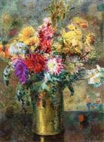 Albert Lebourg - Bilder Gemälde - Bouquet of Flowers