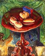Alfred Henry Maurer  - Bilder Gemälde - The Red Table