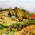 Willard Leroy Metcalf  - Bilder Gemälde - The Passing Glory