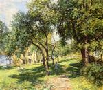 Willard Leroy Metcalf  - Bilder Gemälde - The Path