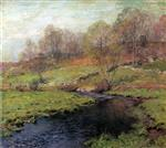 Willard Leroy Metcalf  - Bilder Gemälde - The Trout Brook