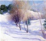 Willard Leroy Metcalf  - Bilder Gemälde - Winter in New Hampshire
