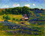 Henry Moret  - Bilder Gemälde - Farm in the Breton Countryside