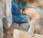 Edvard Munch - Bilder Gemälde - After the Bath