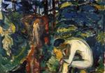 Edvard Munch - Bilder Gemälde - After the Fall